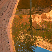 Reflecting pool in Choprock Canyon, Grand Staircase Escalante National Monument Utah