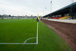 Shielfield Park, the football stadium home of Berwick Rangers Football Club..Berwick Rangers 0 v 1 Annan Athletic, 1/10/2011..Pic © Michael Schofield.