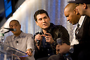 Marc Ecko participates in a panel discussion at MTV studios in New York.