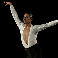 23 January 2010: Charles-Guillaume Schmitt performs during the Masters Bercy Latin and Ballroom (standard) Dancesport Championship 2010, at Palais Omnisports Paris Bercy, in Paris, France. .