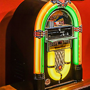 The Mini Bubbler Wurlitzer Jukebox Crosley WR18 is an 18-inch replica of a Wurlitzer JukeBox, with neon lights, bubbling tubes, radio and CD player. Fans of movies and television shouldn't miss the Museum of Western Film History, 701 S. Main Street, Lone Pine, California, 93545, USA. (Formerly called the Beverly and Jim Rogers Museum of Lone Pine Film History.) Web site: www.lonepinefilmhistorymuseum.org