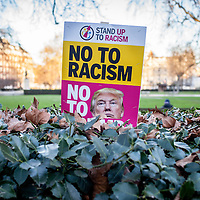No to Donald Trump's racism: protest his inauguration