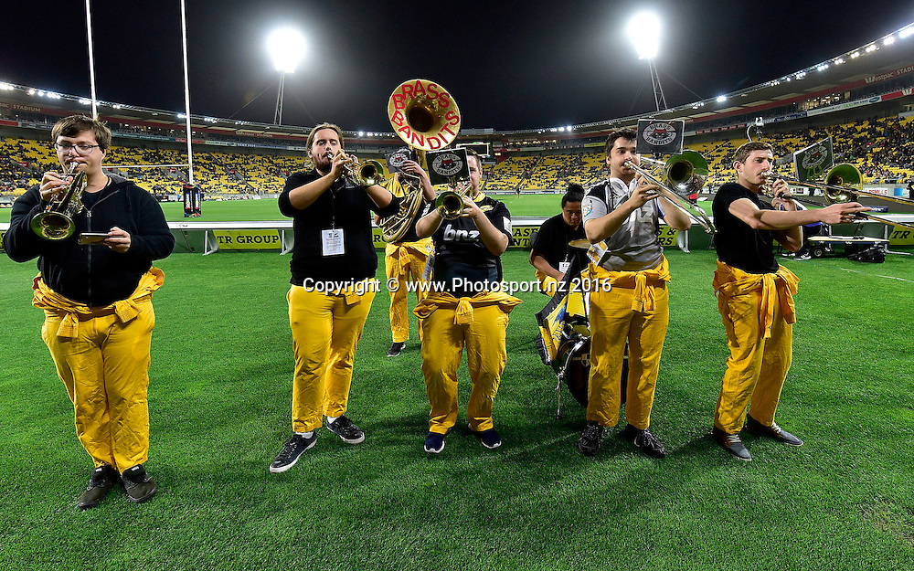 Hurriokie during the Hurricanes vs Kings Super Rugby  match at the Westpac Stadium in Wellington on Friday the 25th of March 2016. Copyright Photo by Marty Melville / www.Photosport.nz