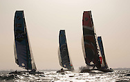 The Extreme Sailing Series 2013. Act 1. Muscat. Oman<br /> Please credit: Lloyd Images