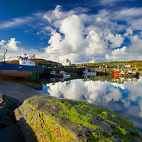 Portmagee Harbour with Boats / pm005