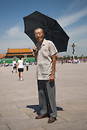 On October 1st 1949, Bao Binglin was on Tian'an men square with his work unit. Beijing 2009. On October 1st 1949, Bao Binglin, 88, was on Tian'an men square with his work unit. Beijing 2009.
