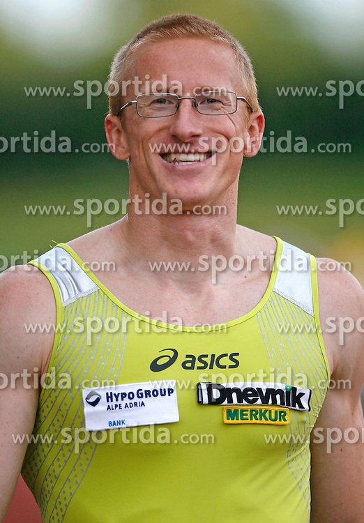 Athlete Matic Osovnikar at 2nd Memorial Meeting of Matic Sustersic, on June 3, 2007, Ljubljana, Slovenia.   (Photo by Vid Ponikvar / Sportal Images).