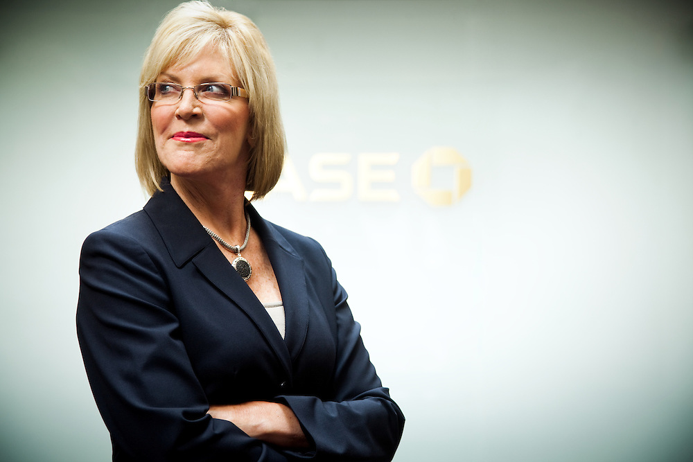 portrait of chase bank executive deborah walden ryan donnell photography   archive