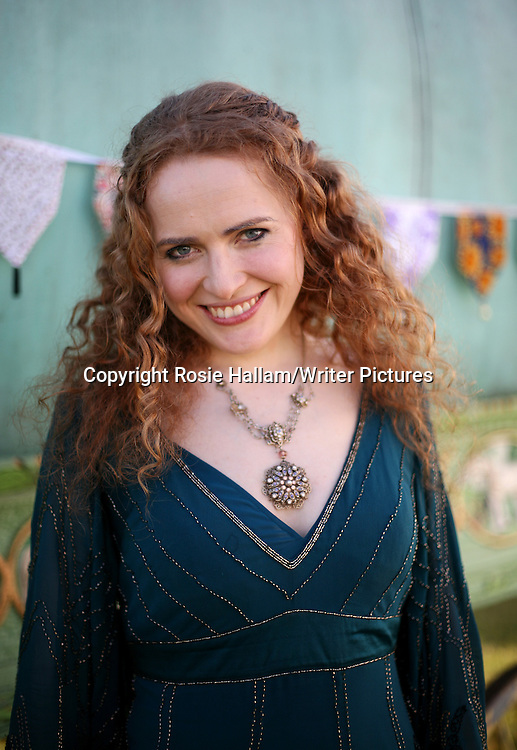 Historian and Author Kate Williams talks about her new book 'Becoming Queen' at the hay Festival.<br /> <br /> Rosie Hallam/Writer Pictures<br /> contact +44 (0)20 822 41564<br /> info@writerpictures.com<br /> www.writerpictures.com