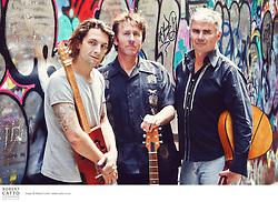 The Shot Band are Bill Hickman, Rob Joass, and Hamish Graham.
