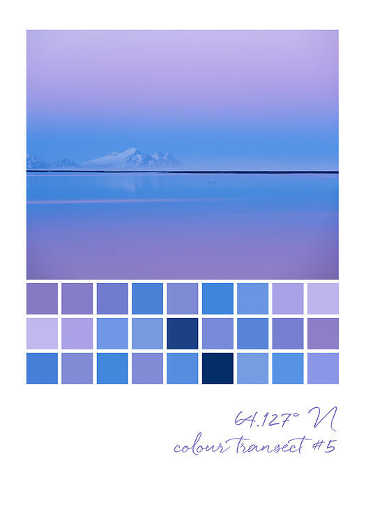 Colour transect #5, 64.127° N