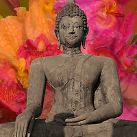 Buddha Statue, Limited Edition Print of 50
