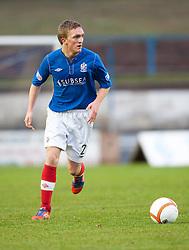 Cowdenbeath's Dean Brett..Cowdenbeath 4 v 1 Falkirk, 9/2/2013..©Michael Schofield.
