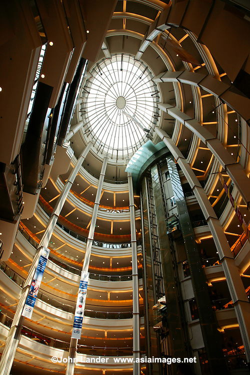 Jakarta's Pacific Place Mall is Indonesia's benchmark retail development.  Besides its enormous size, stretching more than 1.5 kilometres, its extraordinary architecture and interior design complete with sailboat and lighthouse have made it a hit.  Pacific Place also has adjacent office towers, luxury apartments, Ritz Carlton Hotel and a multifunction performance events.