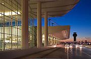 Ted Stevens International Airport, exteriors. Anchorage Alaska