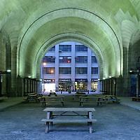 American Nightscapes / DUMBO III<br /> <br /> Tunnel under Manhattan bridge,DUMBO,Brooklyn,New York, USA