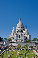 Sacre Couer Paris France in May 2008