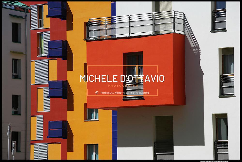 Torino le case del nuovo villaggio olimpico in via Giordano Bruno.© Michele D?Ottavio