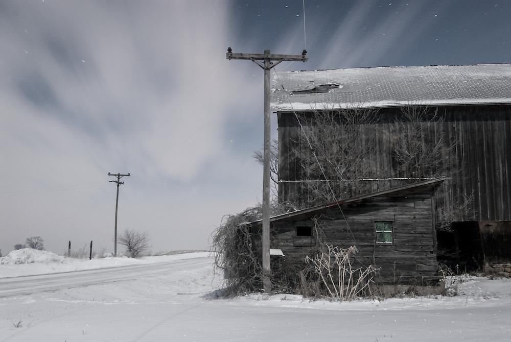 Night's Snowy Serenity Series