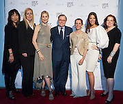(L)Caroline Kim, Editorial Director at LX.TV; Kathleen Ruiz, Vice President at Saks Fifth Avenue; Kelly Rutherford, Actress, currently starring in Gossip Girl; Aniello Mussa, Italian Trade Commissioner for the U.S.; Nancy Ross, Professor at F.I.T.; Ann Caruso, Celebrity and Fashion Stylist; Laurie Brookins, Senior Fashion Editor at Niche Media. SHOP ITALY NYC, promoted by the Ministry of Economic Development and organized by the Italian Trade Commission, celebrates Italian quality and heritage during SHOP ITALY NYC; an exciting one month long series of consumer shopping events, restaurant experiences and promotions throughout Manhattan.