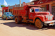 Old car and truck in Alquizar, Artemisa, Cuba.