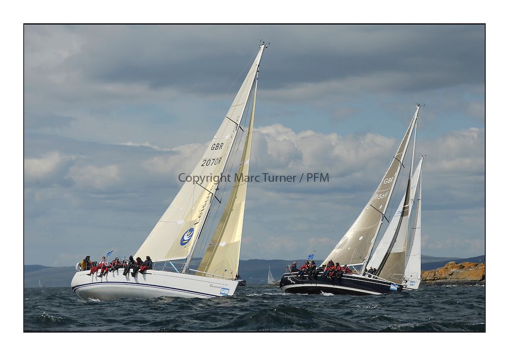 Brewin Dolphin Scottish Series 2012, Tarbert Loch Fyne - Yachting - Day 3 ..GBR2070R, Baccarat, Paul Lovell, FYC /CCC  Dufour 40.