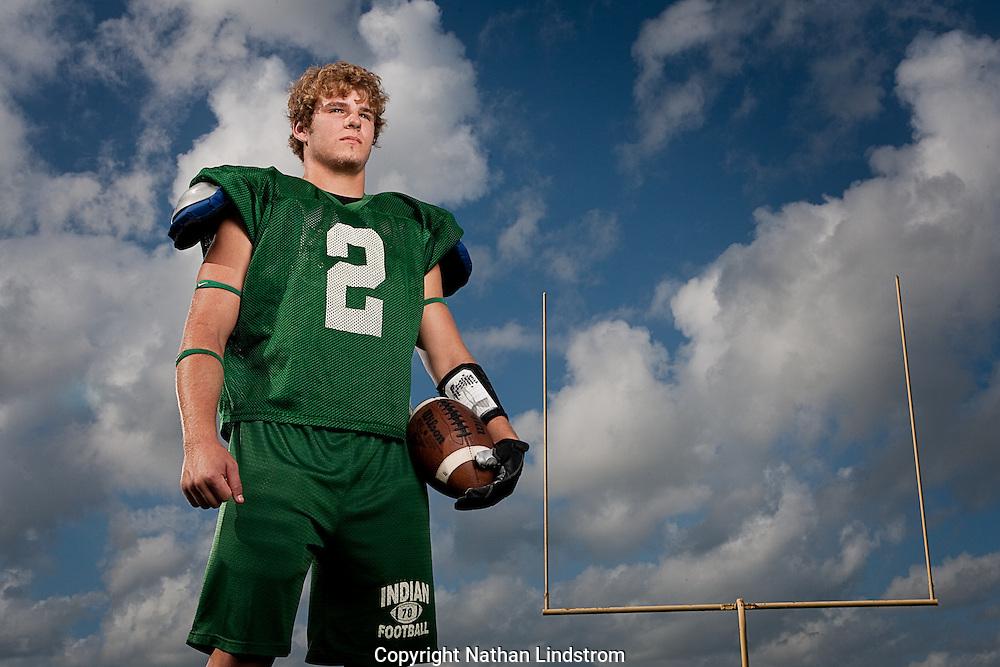Santa Fe High School running back, Joseph Walton