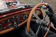 31/10/12 - ENNEZAT - PUY DE DOME - FRANCE - Essais LAGONDA Continental Speed Low de 1932 - Photo Jerome CHABANNE