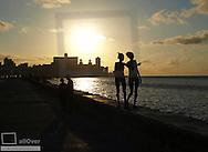 Havanna Vieja, old city, Malecon, Cuba, Havanna