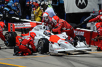 Ryan Briscoe, Iowa Corn Indy 250, Iowa Speedway, Newton, IA USA 22/6/08,
