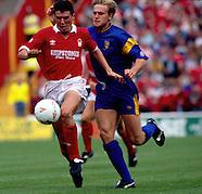 Nottingham Forest v Wimbledon 14.9.1991