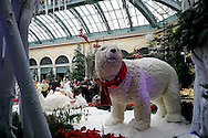 Polar Bear at the Bellagio Atrium, Las Vegas, Nevada