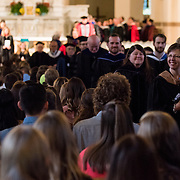 The Academic Convocation at St. Aloysius Church. (Photo by Edward Bell)