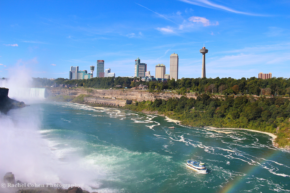 &quot;Maid of the Misty Rainbow&quot;  <br /> <br /> Niagara Falls USA.<br /> <br /> Waterfalls by Rachel Cohen
