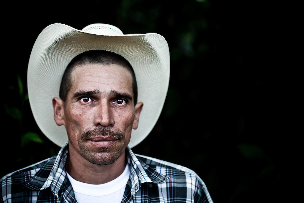 Local man in the Sierra Caral of Guatemala, close to the border with Honduras