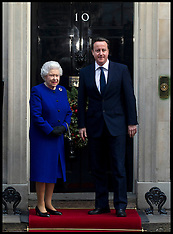 File photo- Cameron with The Queen