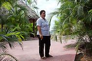 Woman at Villa Mirador de Mayabe near Holguin, Cuba.