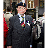 "The funeral for Margret Thatcher..Rodney Buckton, Lt. Col. Royal Fusiliers: ""I came to pay respects to a great Prime Minister and for all she did."""