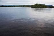 The Great Range from Lower Saranac Lake