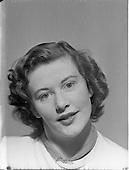 1952 Photo of Miss Betty Cronin