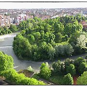 panoramiche del fiume Dora