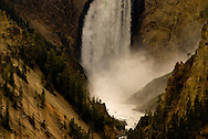 Lower Falls on Grand Canyon of the Yellowstone, Yellowstone National Park, Wyoming