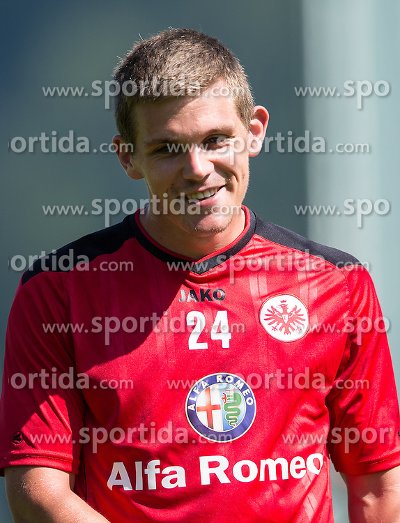 17.07.2013, Sportzentrum, Laengenfeld, AUT, Eintracht Frankfurt Trainingslager, im Bild Sebastian Jung // during the Trainings Camp of German Bundesliga Club Eintracht Frankfurt at the Sportzentrum, Laengenfeld, Austria on 2013/07/17. EXPA Pictures © 2013, PhotoCredit: EXPA/ Johann Groder