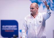 LEN European Water Polo Championships 2016<br /> Netherlands NED (White) Vs Greece GRE (Blue)<br /> Women<br /> Referee Radoslaw KORYZNA POL<br /> Kombank Arena, Belgrade, Serbia <br /> Day09  18-01-2016<br /> Photo P. Mesiano/Insidefoto/Deepbluemedia