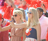 Ole Miss fans at Vaught-Hemingway Stadium in Oxford, Miss. on Saturday, September 24, 2011. Georgia won 27-13.