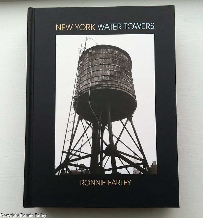 ISBN 978-0-9898856-4-5<br /> <br /> New York Water Towers<br /> by Ronnie Farley<br /> <br /> $29.95 +7.00 p &amp; h<br /> Paypal. credit card or check to:<br /> <br /> Ronnie Farley<br /> P.O. Box 423, Beacon, NY 12508