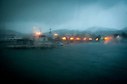 Arrival into the port of Mytilene, Lesvos.  Image © Angelos Giotopoulos/Falcon Photo Agency..