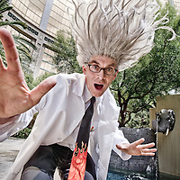 Russelll Brown, Photoshop eevangelist as his alter ego, Dr. Brown.