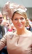 27-5-2014 - MUNSTER - <br /> Koning Willem Alexander  en Koningin Maxima brengen een tweedaags werkbezoek aan Nedersaksen en Noordrijn-Westfalen op maandag 26 en dinsdag 27 mei  2014. <br /> COPYRIGHT ROBIN UTRECHT