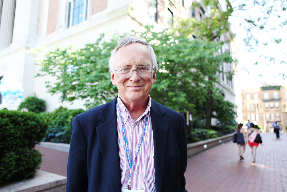 """Richard Hall '61, '64.Daughter: Charlotte Hall '04..""""Talk politics with your fellow students."""""""